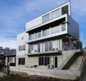 建築家の設計案件を<br>エバーがフルサポート。