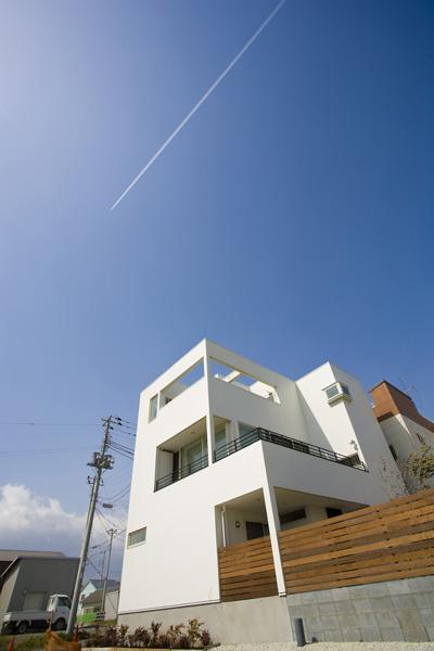 茅ヶ崎で最南端の家。